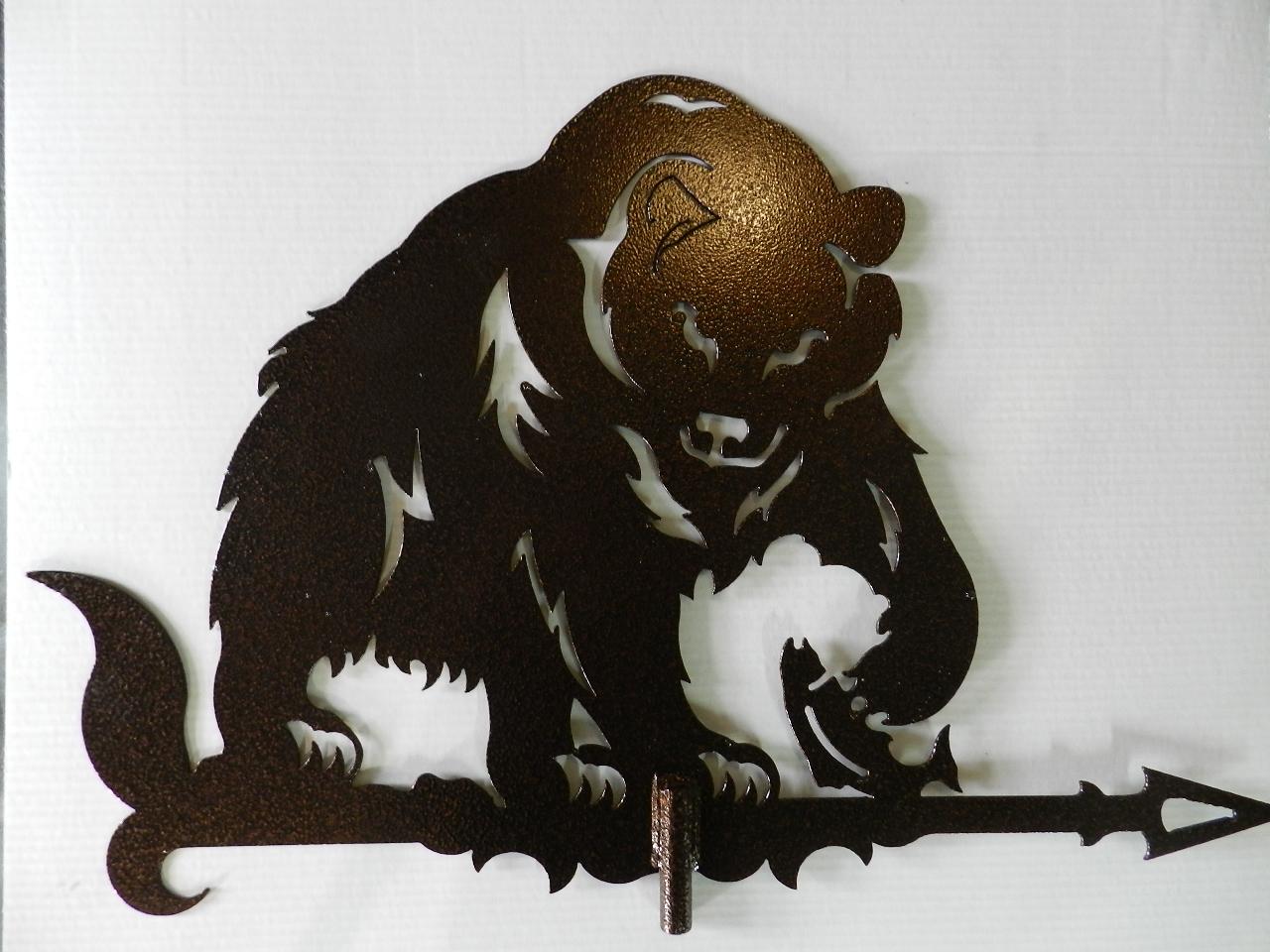 этого картинки медведей флюгера место само
